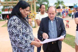 Dep Dist Telma Rufino e Administrador Manoel Valdeci