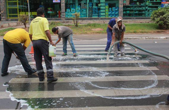 Faixa de pedestre