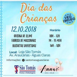 São Tomás Festas - Águas Claras