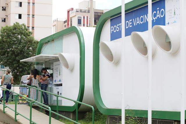 Foto: Secretaria de saúde do Distrito Federal