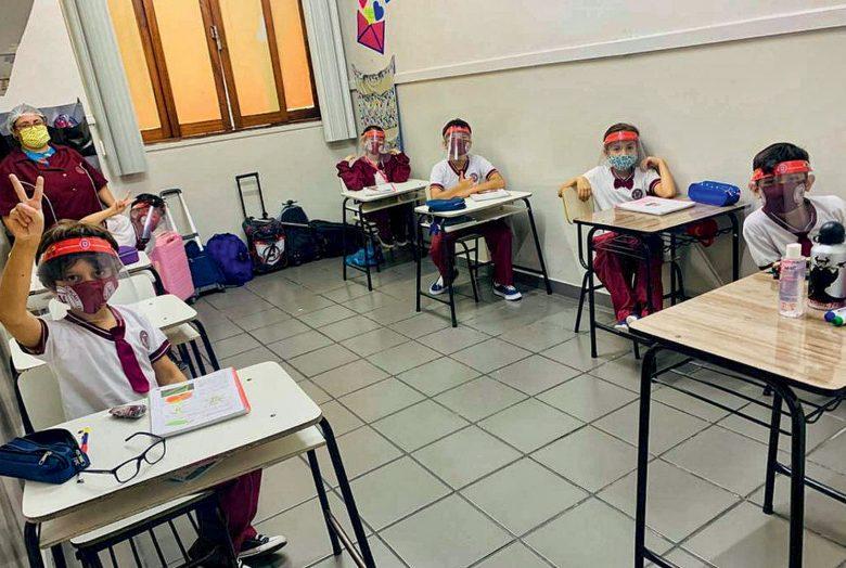 Escolas particulares de Manaus devem respeitar medidas de distanciamento e ocupação de 50% das salas de aula ¿ - Foto: Divulgação/Escola Meu Caminho 13/07/2020